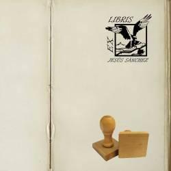 Sello Ex Libris Águila