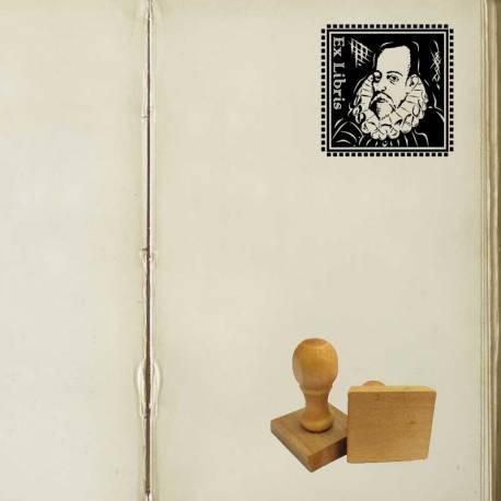 Sello Ex Libris Cervantes