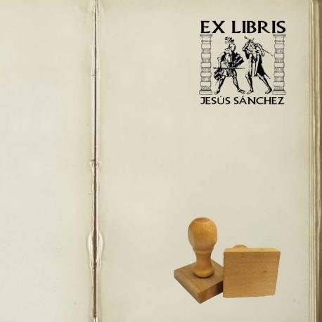 Sello Ex Libris Guerreros