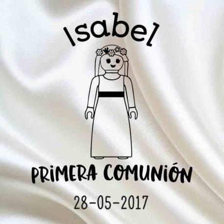Sello Comunión Isabel