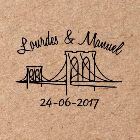 Sello para boda Nueva York