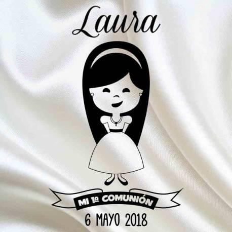 Sello Comunión Laura