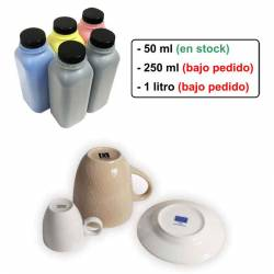 Tinta para ceramica y fotos