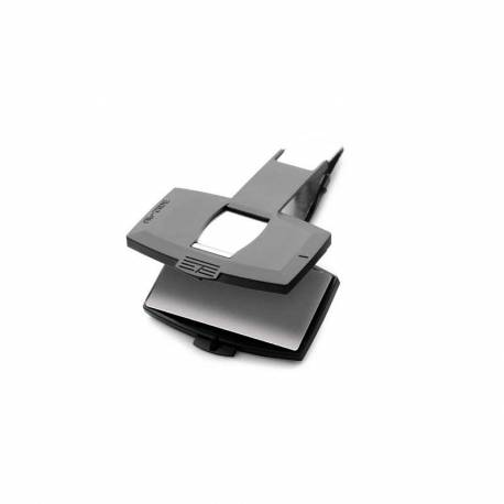 Pinza para sello en seco rectangular 55x21 mm