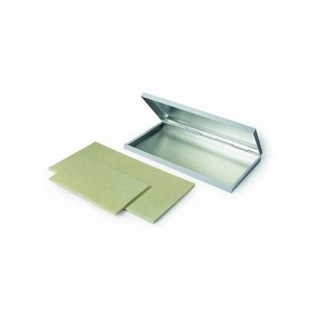 Tampón para materiales no porosos