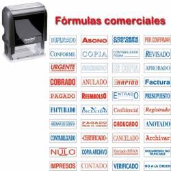 Fórmula comercial auto 38x14 mm